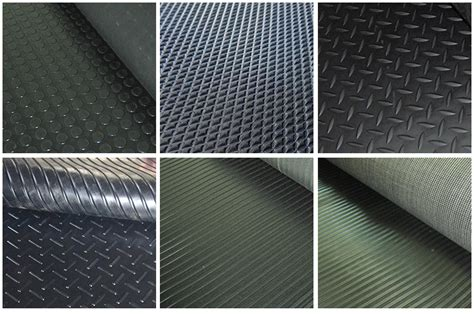 caoutchouc garage tapis de sol tapis de plancher tapis de sol en caoutchouc rouleau paillasson