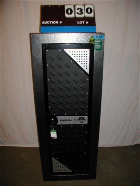 tactical steel security cabinet 16 gun stack on gun safe