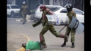 Kenyan police under investigation for beating ...