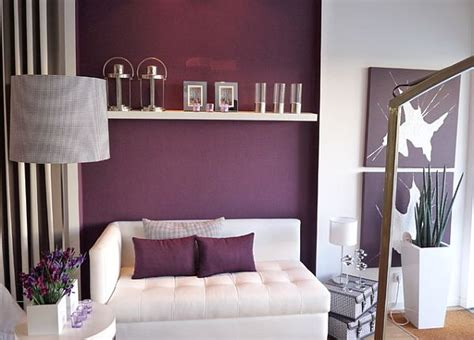 grey and purple living room walls how to decorate with purple in dynamic ways