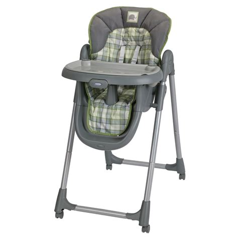 graco s meal time highchair has 4 height and 3 recline levels