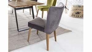 Stuhl Grau Eiche : stuhl jan polsterstuhl in stoff grau und eiche natur ~ Markanthonyermac.com Haus und Dekorationen