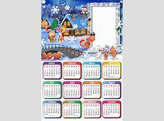 Calendário 2019 Natal Baby Imagem Legal