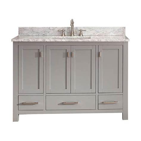 modero chilled gray 48 inch vanity only avanity vanities bathroom vanities bathroom furnit