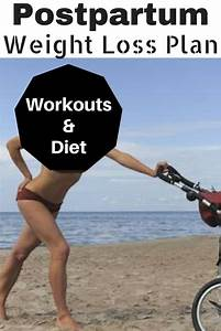 14 Day postpartum weight loss plan. Diet and home workouts ...