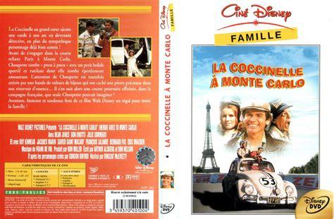 jaquette dvd de la coccinelle 224 monte carlo cin 233 ma