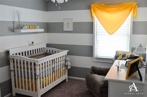 deco chambre bebe gris et jaune