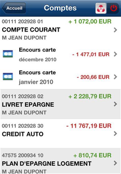 credit mutuel application iphone 171 cr 233 dit mutuel 187 banques en ligne mobile