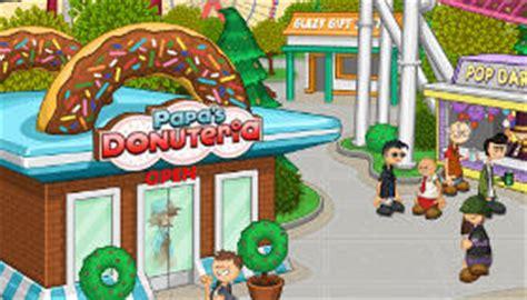 jeu papa s fait des donuts gratuit jeux 2 filles