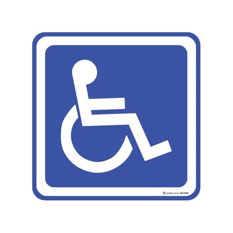 panneau acc 232 s handicap 233 s en fauteuil roulant pmr