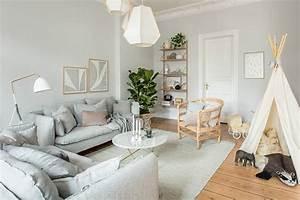 Wohnzimmer Wandfarbe Sand : und hier ist es unser neues wohnzimmer ganz langweilig in grau oder ist das supersmart plus ~ Markanthonyermac.com Haus und Dekorationen