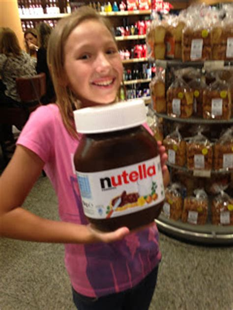 the crane 5kg tubs of nutella