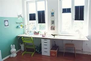 Schreibtisch Kinderzimmer Ikea : einen kinderschreibtisch schnell und einfach selber bauen ~ Markanthonyermac.com Haus und Dekorationen