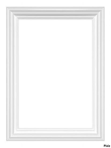 montage photo cadre blanc pixiz