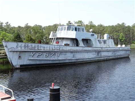 Free Boats On Craigslist Long Island by Retired Naval Academy 108 Foot Patrol Boat On Craigslist
