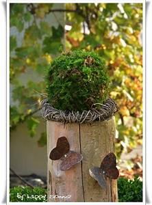 Mit Moos Basteln : basteln mit moos und eicheln ~ Whattoseeinmadrid.com Haus und Dekorationen