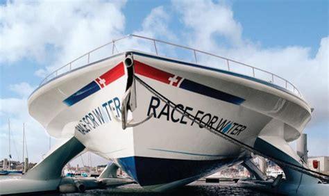 Catamaran Around The World Race by The Race For Water Catamaran Travels Around The World To