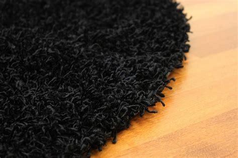 tapis rond 160 cm fancy noir tapis rond 160 cm trendcarpet fr