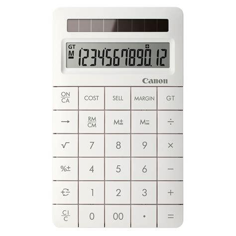 canon x ii blanc calculatrice canon sur ldlc