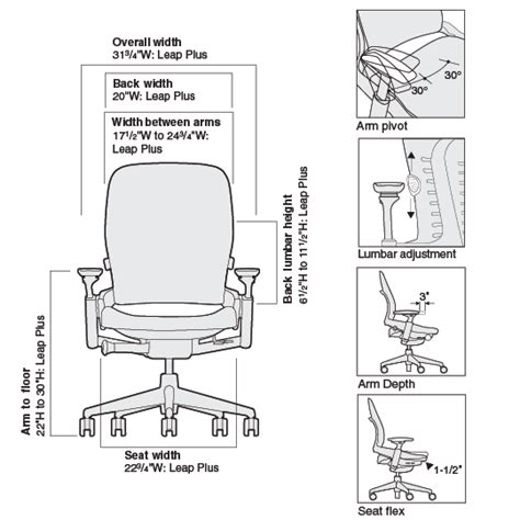 leap plus ergonomic chair from steelcase steelcase store