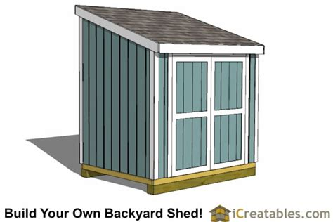 6x8 shed plans 6x8 storage shed plans icreatables
