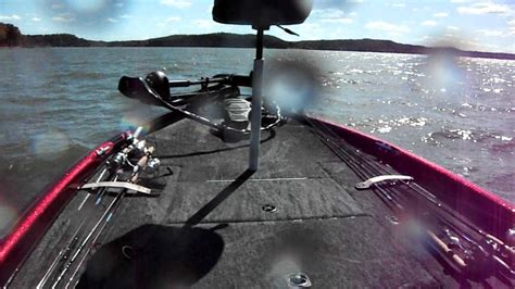 Tritoon Boat Rough Water by Rough Water On The Tennessee River In A Triton Tr20 Bass