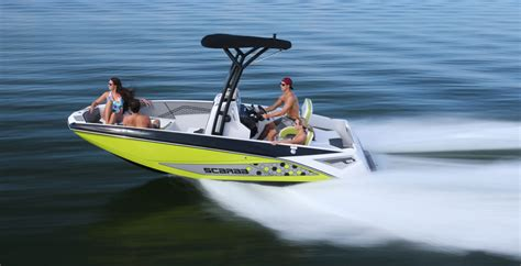 Scarab Wake Boat Reviews by Scarab Open 195 Review Boat