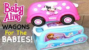 BABY ALIVE Toys R Us Outing With Brianna + Wagons For Baby ...