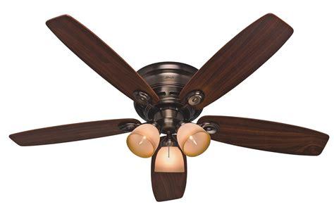 Low Profile Ceiling Fan by 52 Quot Low Profile Iv Plus Ceiling Fan 23908 In