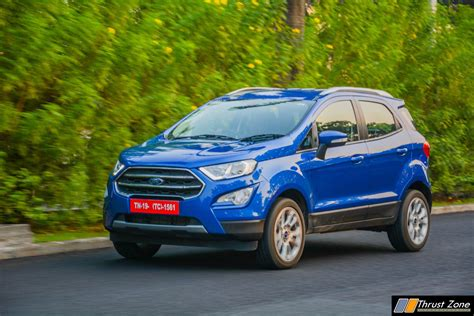 2018 Ford Ecosport Facelift Automatic Review, First Drive