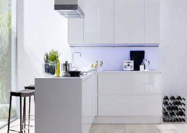 meubles de cuisine laque blanc siematic smart design