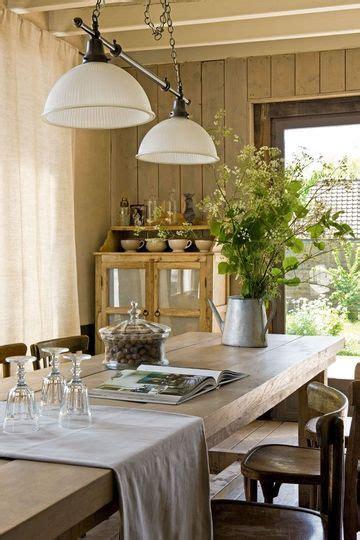 une salle 224 manger au style cagne chic plus de photos sur c 244 t 233 maison http petitlien fr