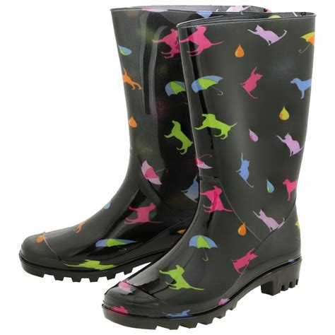 Boat Shop Dog by Raining Cats Dogs Ultralite Rain Boots The Animal