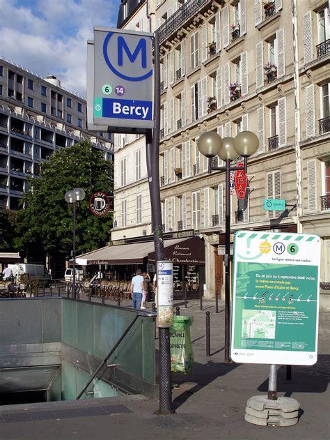 bercy metropolitana di parigi