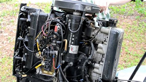 Mercury Outboard Motor Video by Mercury 150 Outboard Starter Removal Youtube