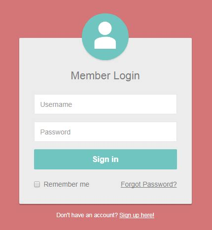 Bootstrap Login Form Examples (live Demos & Codes