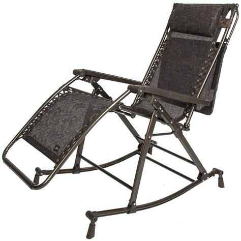 bliss hammocks zero gravity patio lounge chair rocker 7792t save 26