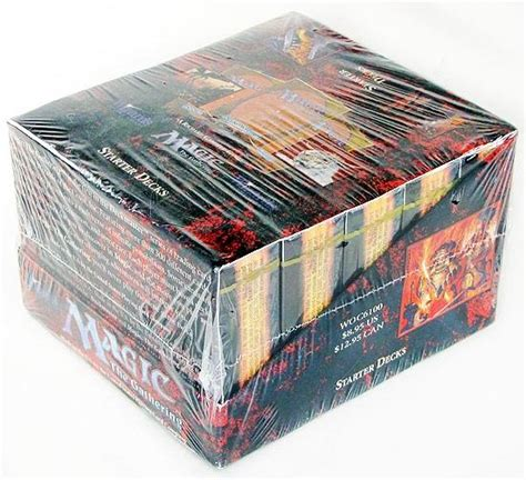 magic the gathering 4th edition starter deck box sealed