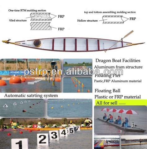 Dragon Boat Buy by Frp Dragon Boat With Idbf Tested Buy Paddle Dragon Boat