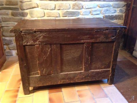 ancien petit coffre en ch 234 ne de r 233 gion normandie artisans du patrimoine
