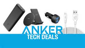 Anker Tech anker tech deals big discounts on quick charge 3 0 power
