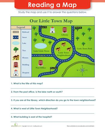 Map Reading  Social Studies, Scale And Shapes