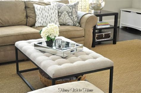 Honey We're Home: Overstock Renate Coffee Table Ottoman   For the Home   Pinterest   Ottoman