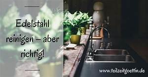 Edelstahl Abzugshaube Reinigen : edelstahl reinigen aber richtig teilzeitg ttin ~ Markanthonyermac.com Haus und Dekorationen