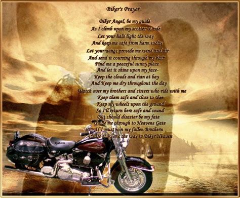Bikers Prayer For Fallen Biker