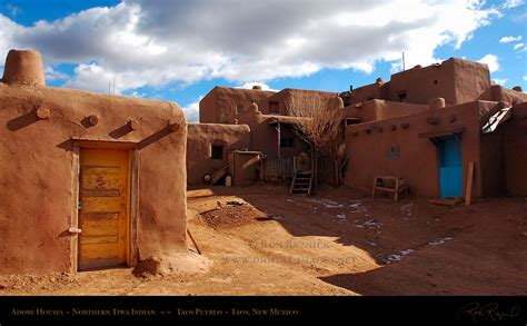 inspiring pueblo adobe houses photo taos pueblo unesco world heritage site