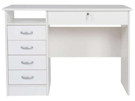 bureau 5 tiroirs 1 niche college 2 vente de bureau conforama