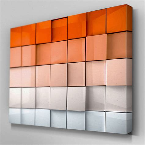 Ab325 Orange Abstract Depth Canvas Wall Art Ready To Hang. Modern Light Fixtures. Decorative Metal Wall Panels. 10 Person Table. Colorful Fireplace. National Builders Supply. Ideal Fence. Fabric Counter Stools. Dish Racks
