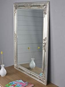 Spiegel Oval Silber : spiegel silber landhaus barock ~ Markanthonyermac.com Haus und Dekorationen