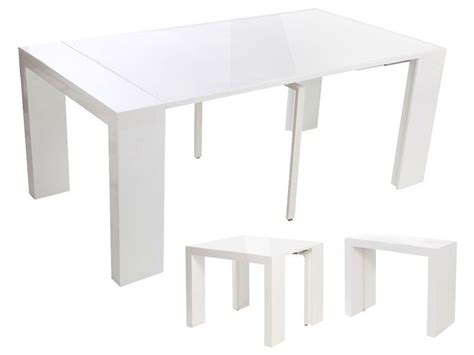 1000 ideas about console extensible blanc laqu 233 on console extensible but table